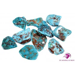 Turquoise roulée
