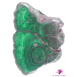Plaque de Malachite
