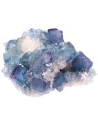 Vente de minéraux et de cristaux octaédriques de fluorine et fluorite
