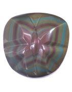 Obsidienne, roche vitreuse d'origine volcanique. Vente de minéraux en ligne