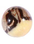 Minéraux taillés en sphères
