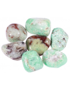 Minéraux de chrysoprase pierre naturelle en vente sur notre boutique